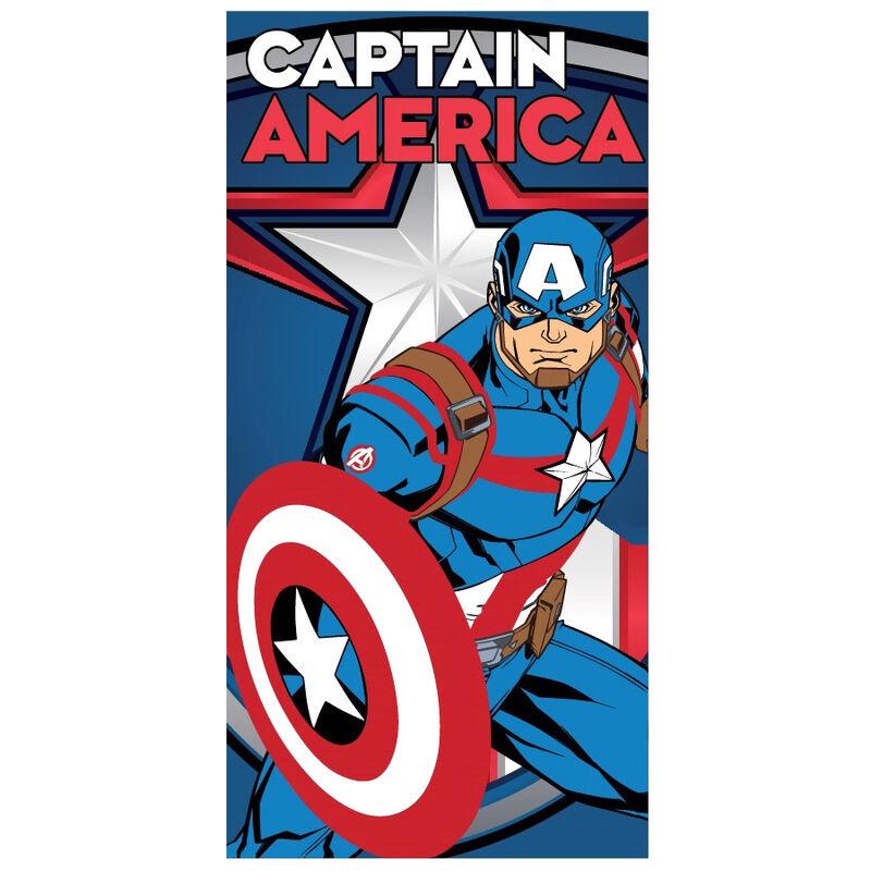 Toalla Capitan America Marvel microfibra 5901854875279