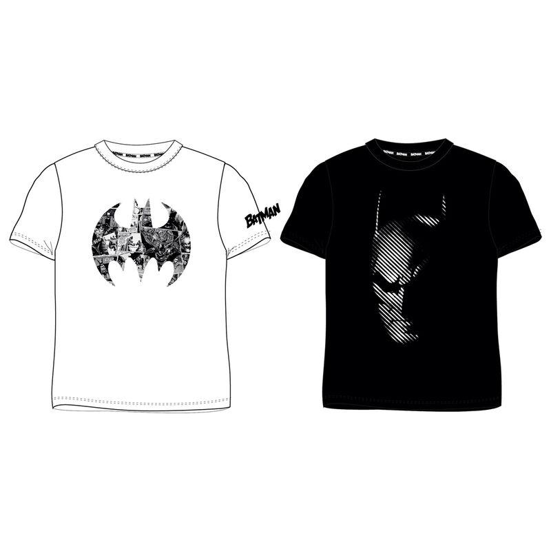 Camiseta Batman DC Comics adulto TALLA L - COLOR BLANCO