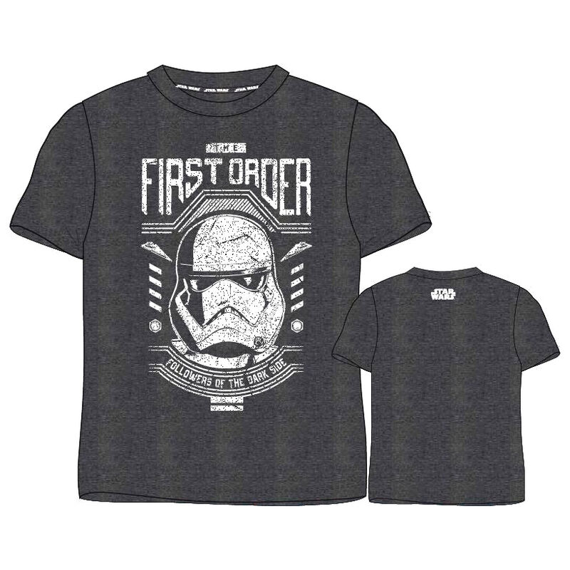 Camiseta The First Order Star Wars adulto 5908213347941
