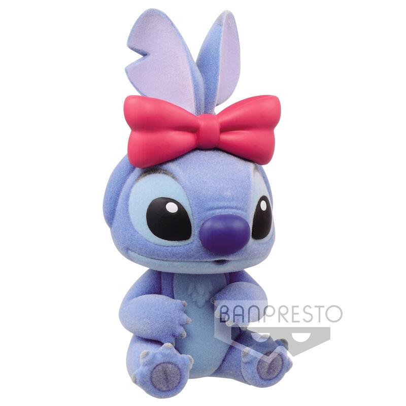 Figura Stitch - Stitch and Angel Disney Characters Fluffy Puffy Q Posket 6cm 4983164175219