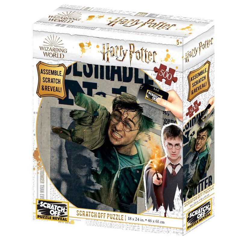 Puzzle para Rascar Wanted Harry Potter 500pzs 670889375065