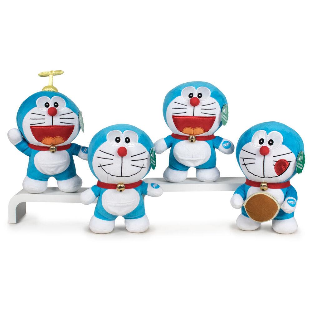Peluche Doraemon soft sonido español 23cm surtido 8425611386145