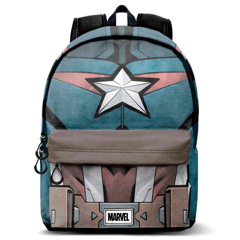 Mochila Chest Capitan America Marvel 45cm 8445118024265