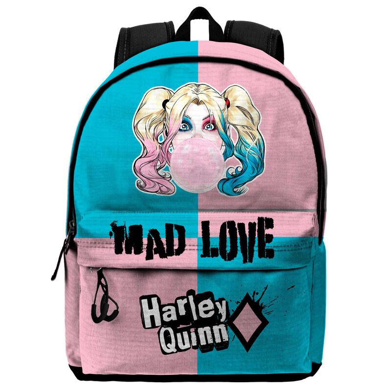 Mochila Bad Girl Harley Quinn DC Comics 45cm 8445118018813