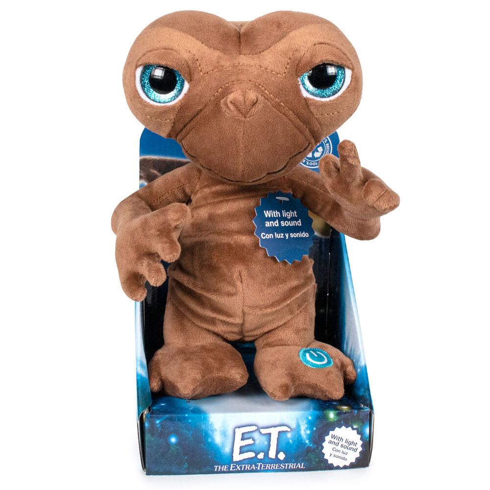 Peluche Ingles E.T. El Extraterrestre luz y sonido 25cm 8425611300622