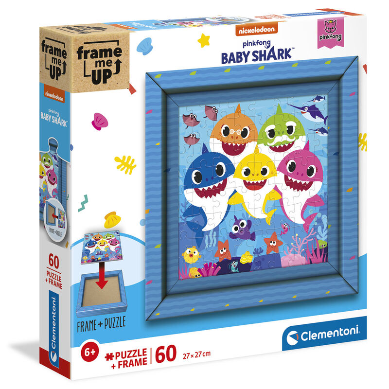 Puzzle Frame me Up Baby Shark 60pzs 8005125388073