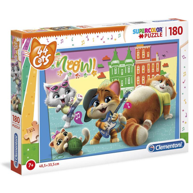 Puzzle 44 Gatos 180pzs 8005125297634