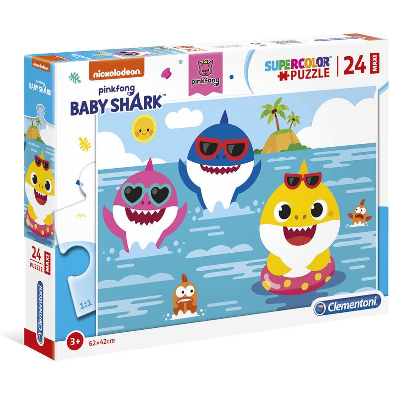 Puzzle Maxi Baby Shark 24pzs 8005125285198