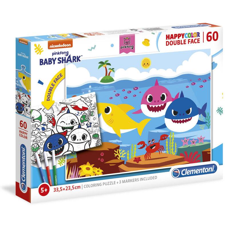 Puzzle Happy Color Baby Shark 60pzs 8005125260935