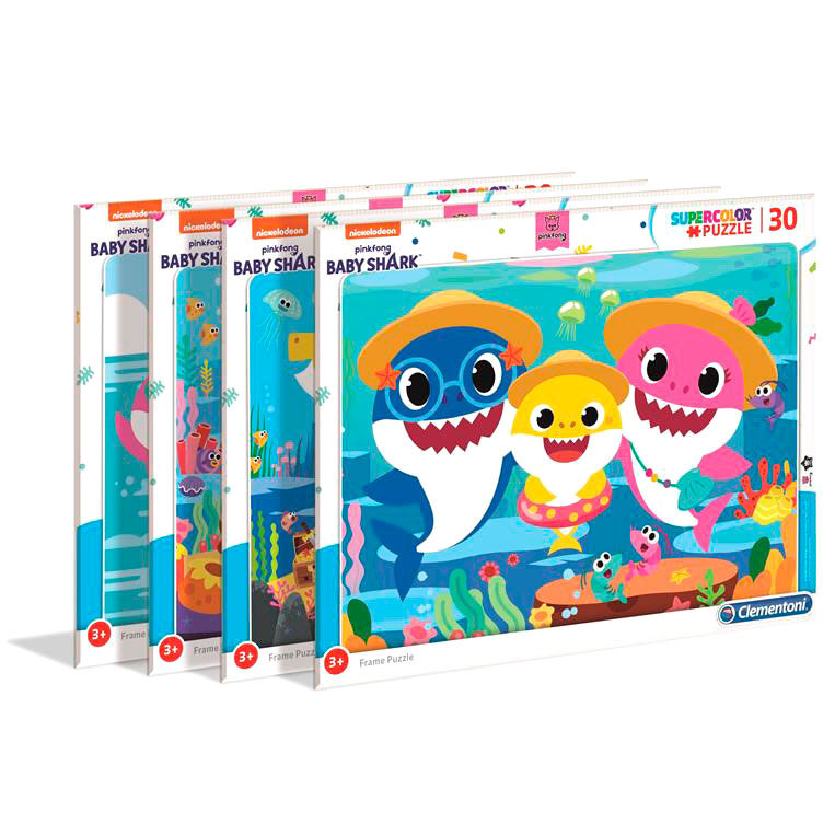 Puzzle In Frame Baby Shark 4x30pzs 8005125221097