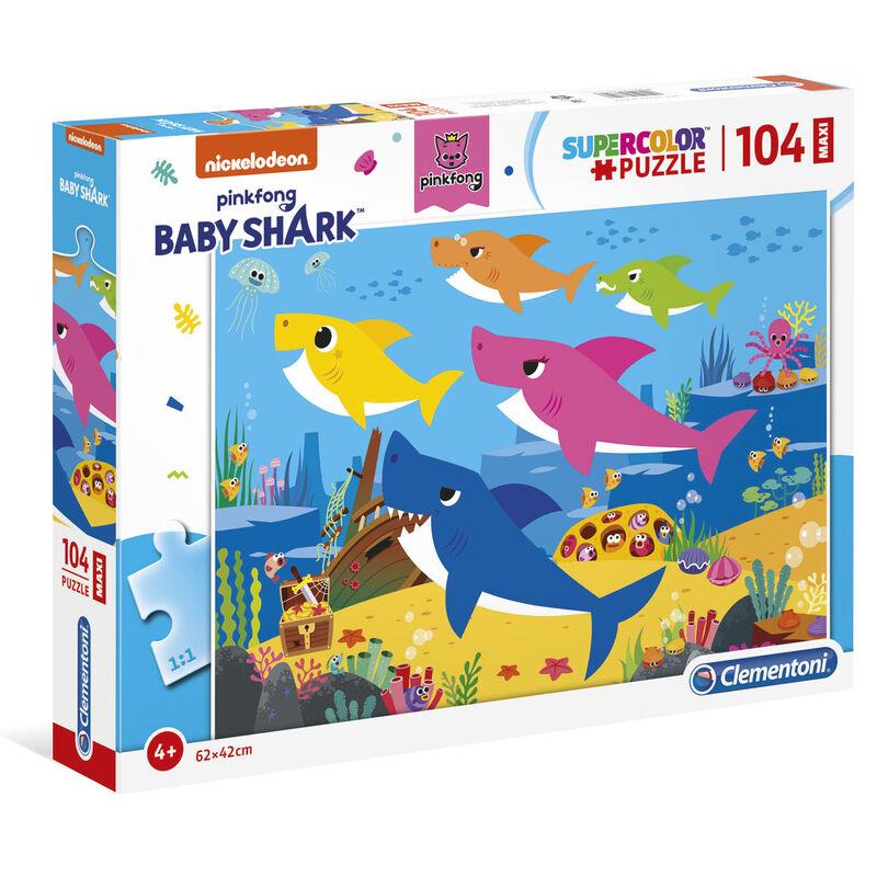 Puzzle Maxi Baby Shark 104pzs 8005125237517