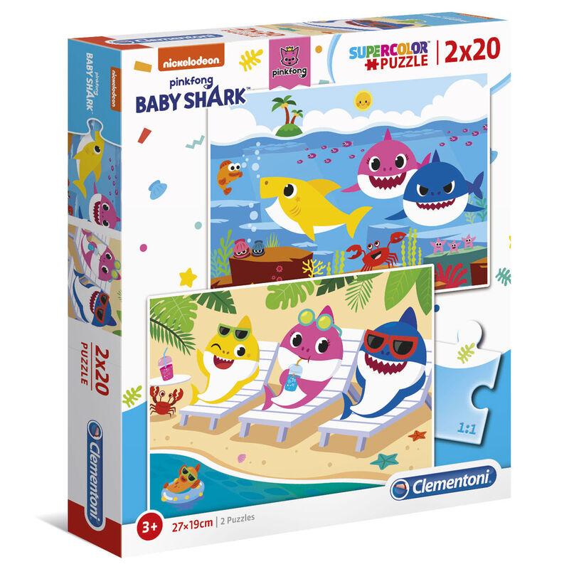 Puzzle Baby Shark 2x20pzs 8005125247776