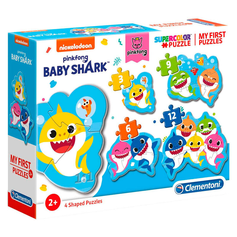 Puzzle My First Puzzle Baby Shark 3-6-9-12pzs 8005125208289