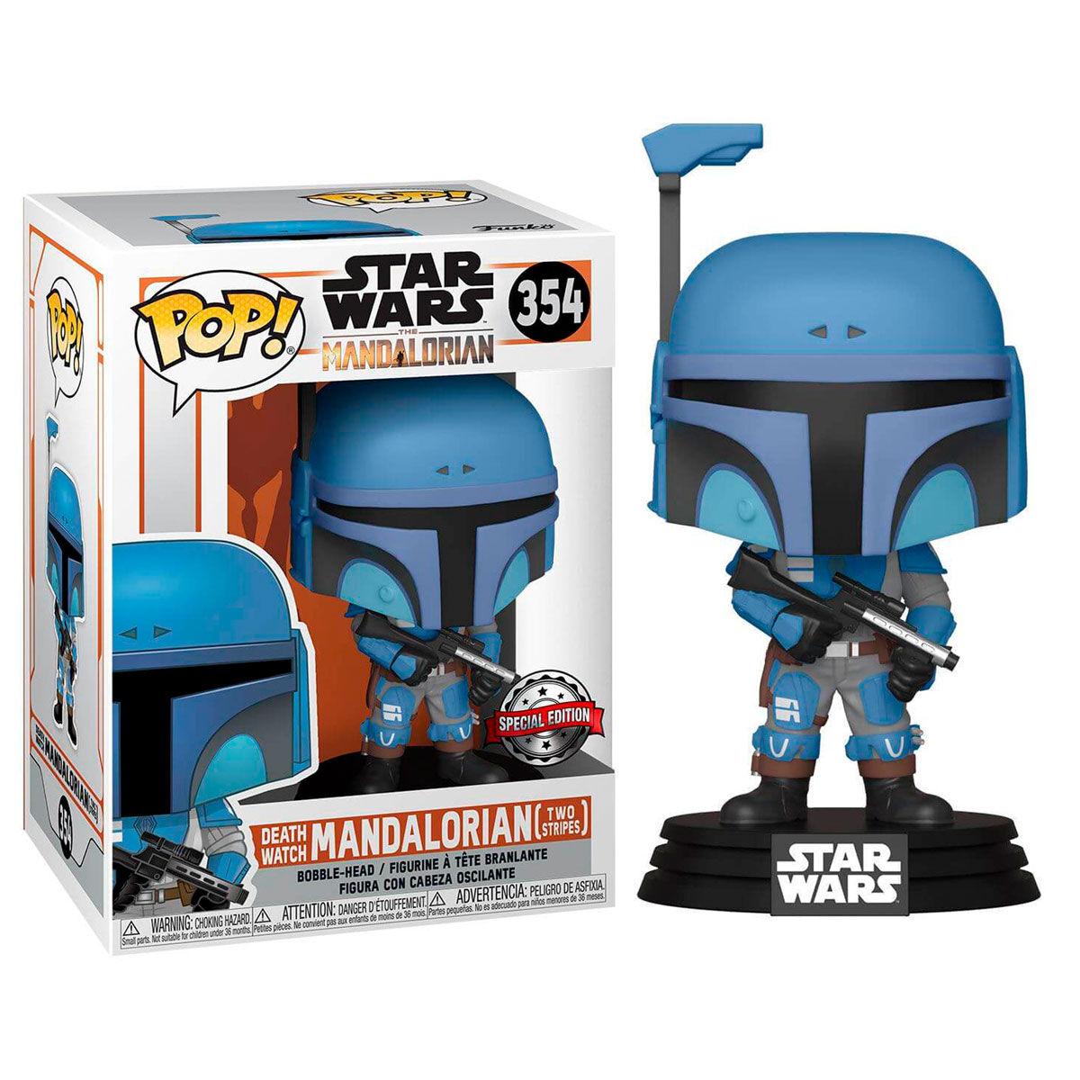 Figura POP Star Wars Mandalorian Death Watch Mandalorian Two Stripes Exclusive 889698460910