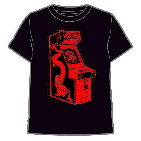Camiseta Maquina Recreativa Mortal Kombat adulto 8435073752242