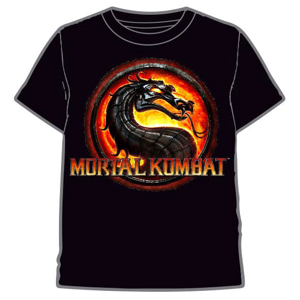 Camiseta Mortal Kombat infantil 8435073752280