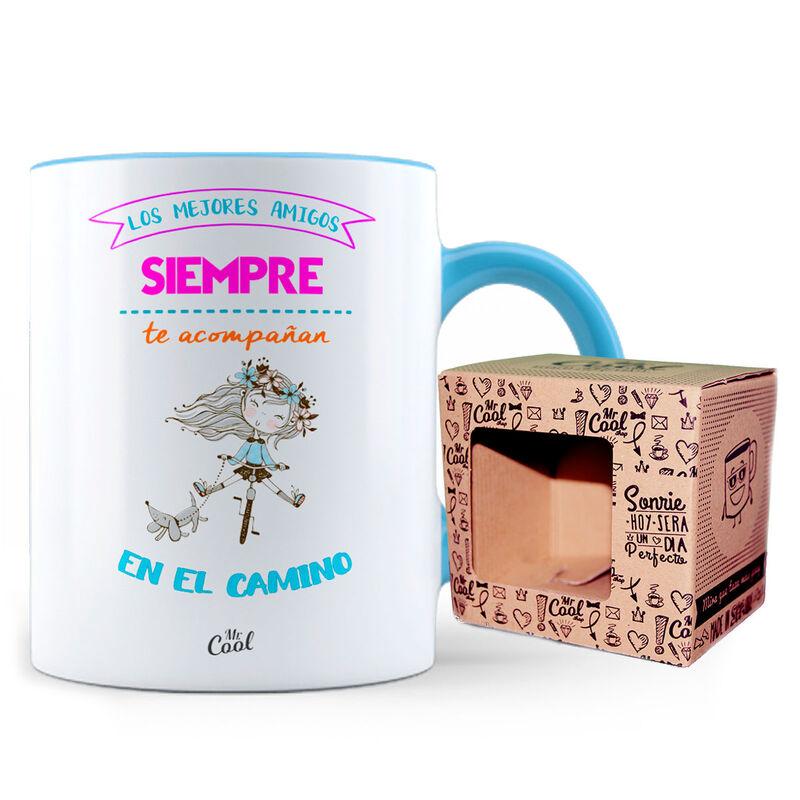 Taza color Los Mejores Amigos 8436571074447