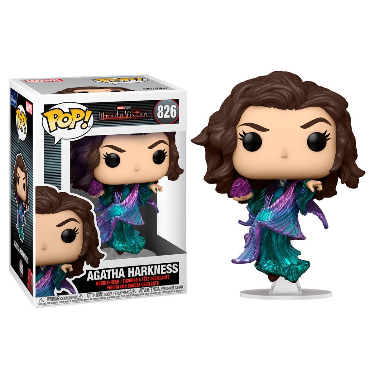 Funko POP o Figura POP Marvel WandaVision Agatha Harkness