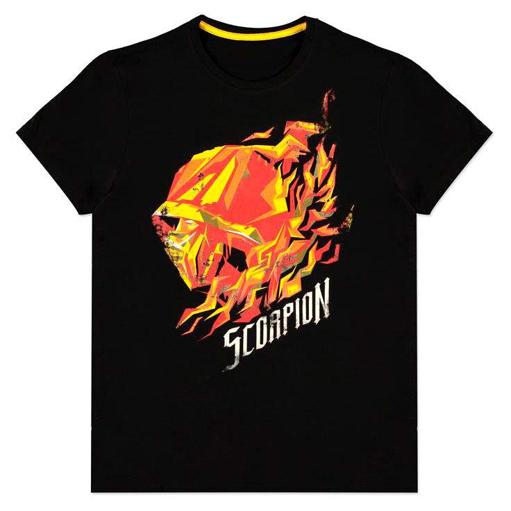 Camiseta Scorpion Flame Mortal Kombat 8718526347487
