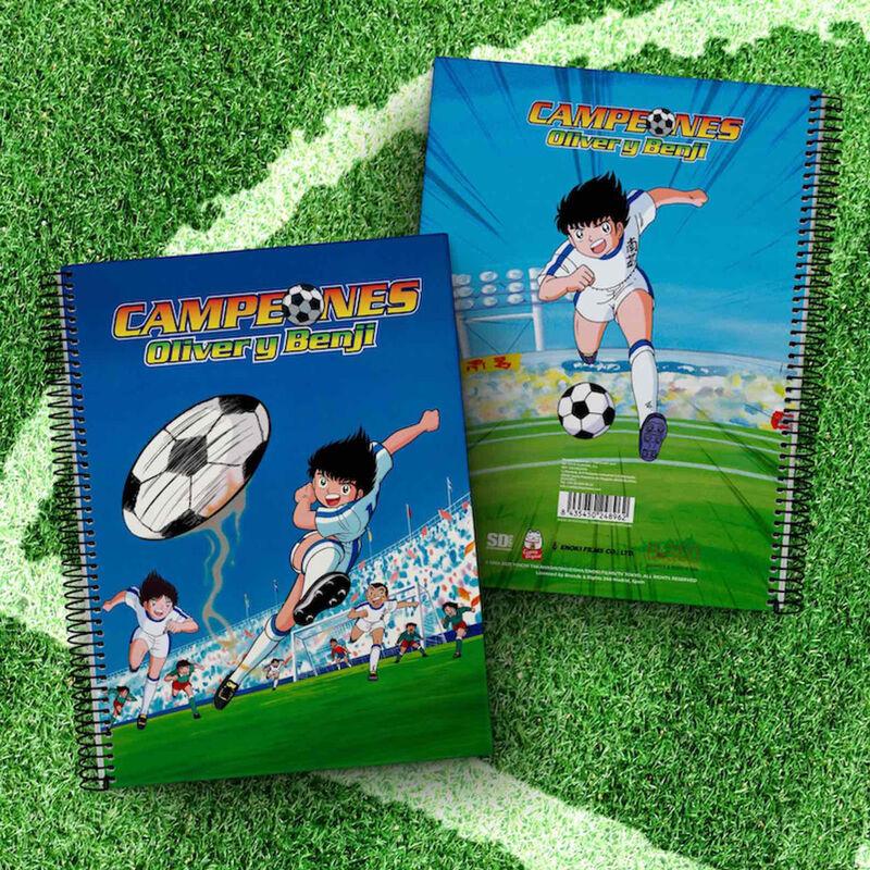 Cuaderno A4 Newpi vs San Francis Campeones Oliver y Benji 8435450248955