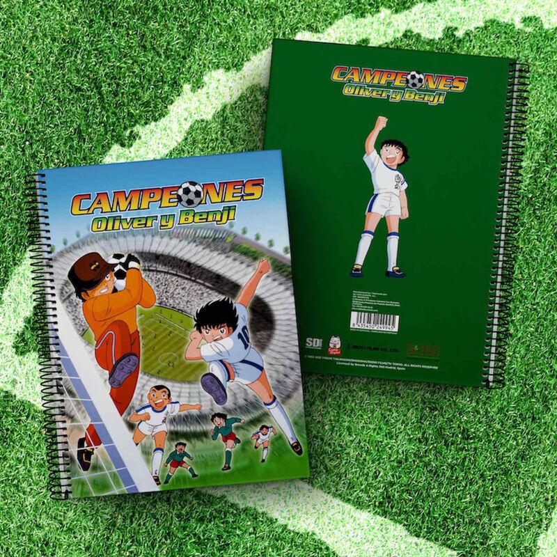 Cuaderno A4 Estadio Campeones Oliver y Benji 8435450249945