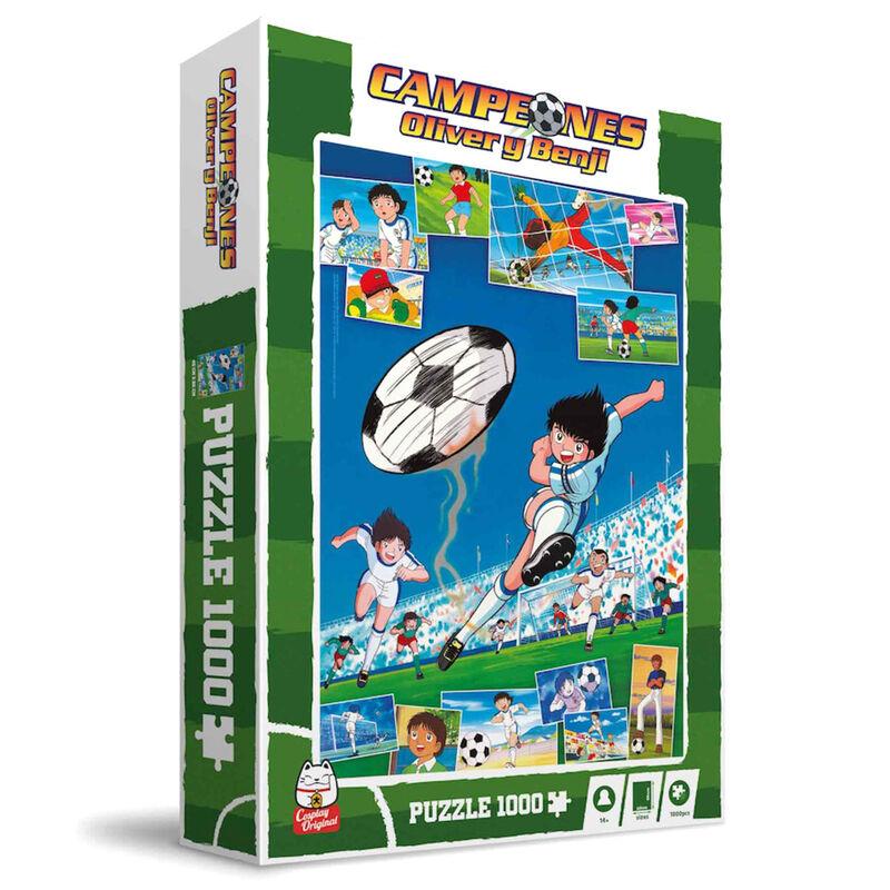Puzzle Newpi vs Francis Campeones Oliver y Benji 1000pzs 8435450248931