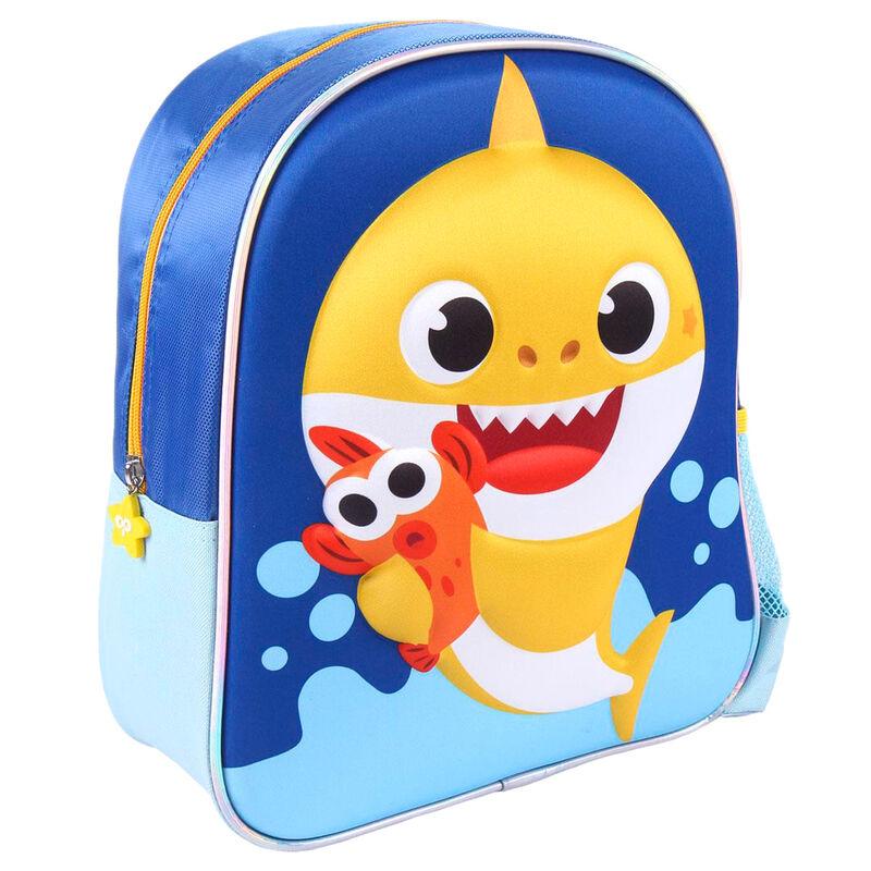 Mochila 3D Baby Shark 31cm 8427934583799