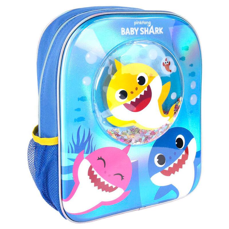Mochila confetti Baby Shark Disney 8427934537976