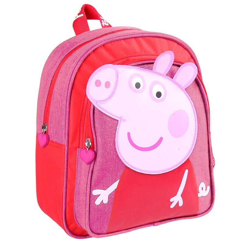 MOCHILA INFANTIL PEPPA PIG 25,5X30X10CM 8427934536764