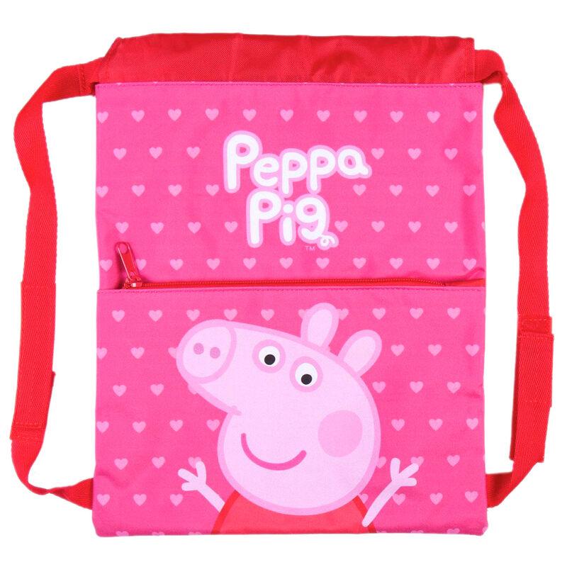 SACO MOCHILA PEPPA PIG 27X33CM 8427934536443