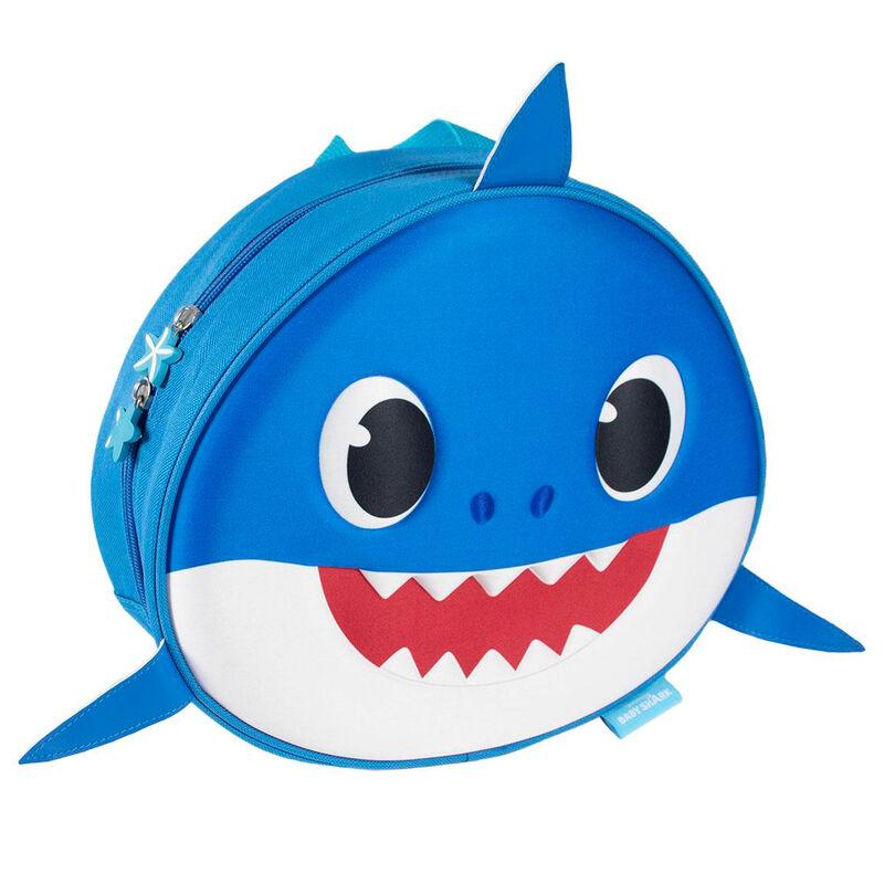 Mochila 3D premium Daddy Shark Baby Shark 30cm 8427934537662