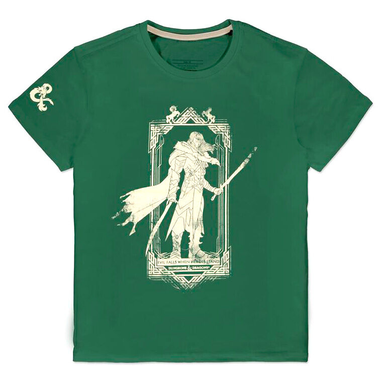 Camiseta Drizzt Dungeons and Dragons 8718526343762
