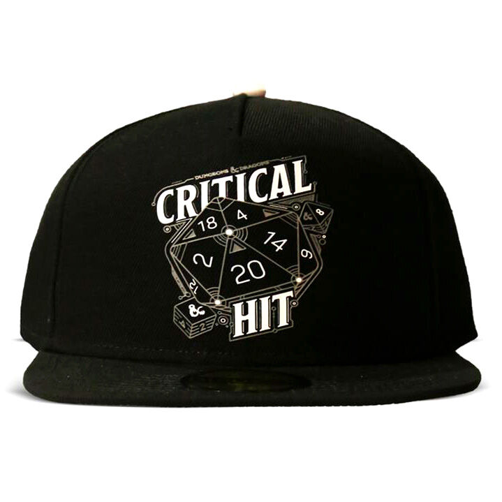 Gorra Critical Hit Dungeons and Dragons 8718526125573