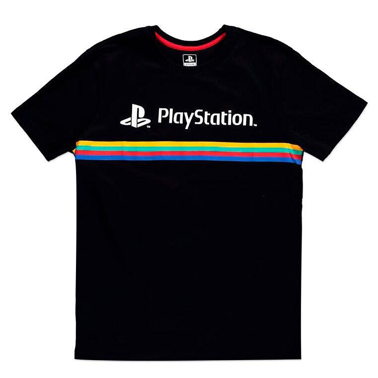 Camiseta Color Stripe Logo PlayStation 8718526337990