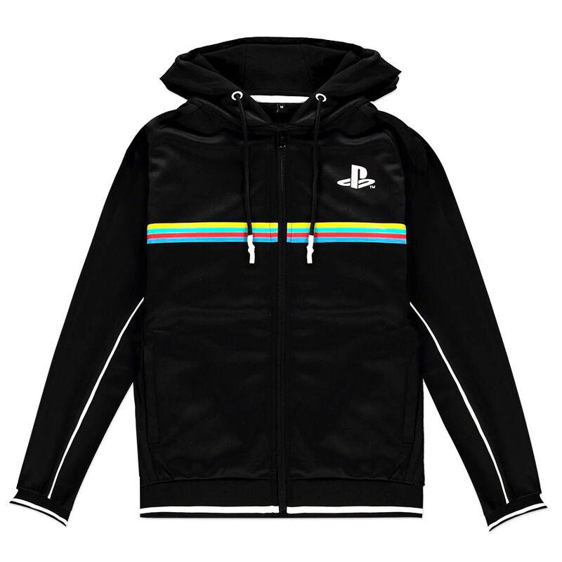 Sudadera capucha Color Stripe PlayStation 8718526338157