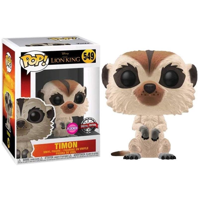 Figura POP Disney El Rey Leon Timon Flocked Exclusive 889698406987