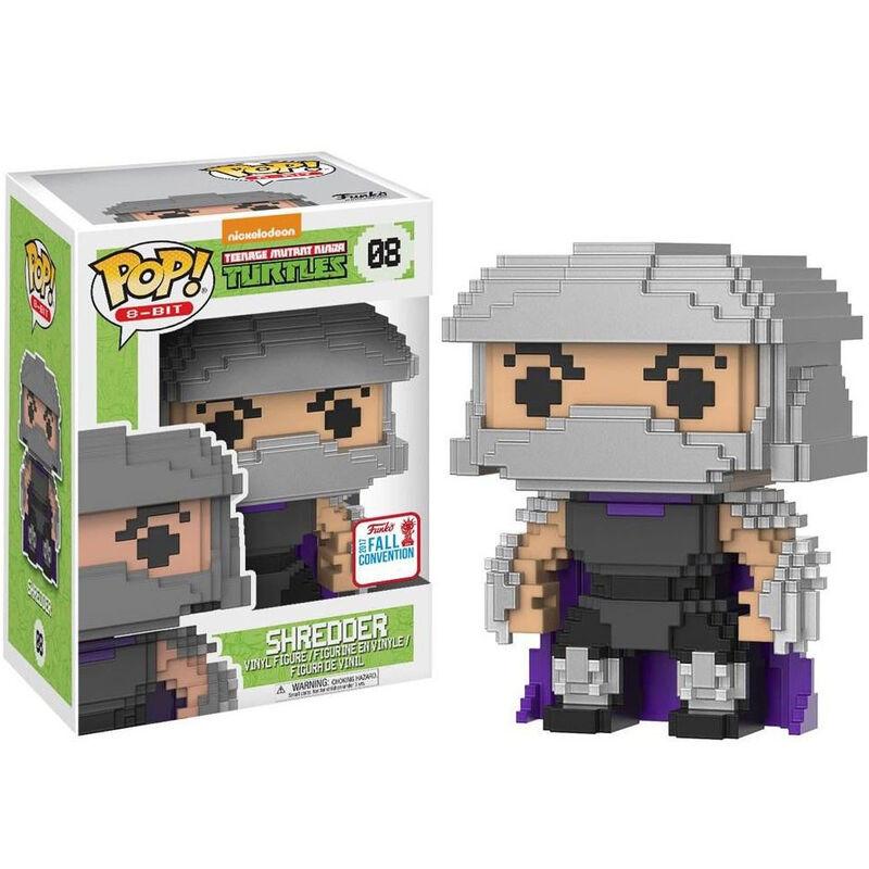 Figura POP Las Tortugas Ninja Shredder Exclusive 889698217507