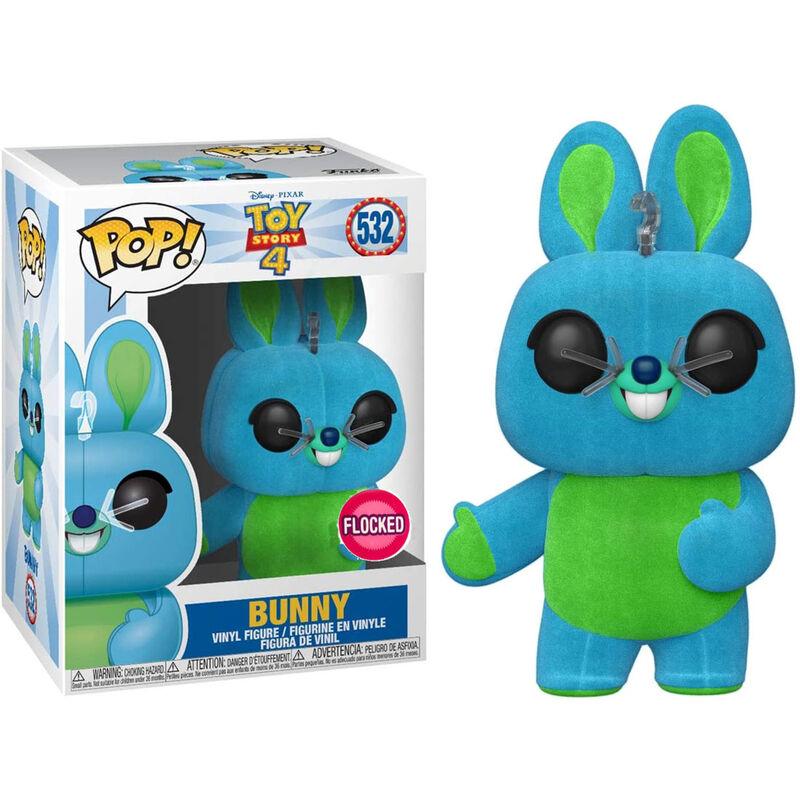 Figura POP Disney Toy Story 4 Bunny Flocked Exclusive 889698374705