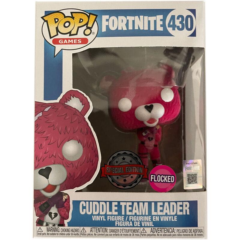 Figura POP Fortnite Cuddle Team Leader Flocked Exclusive 889698409483