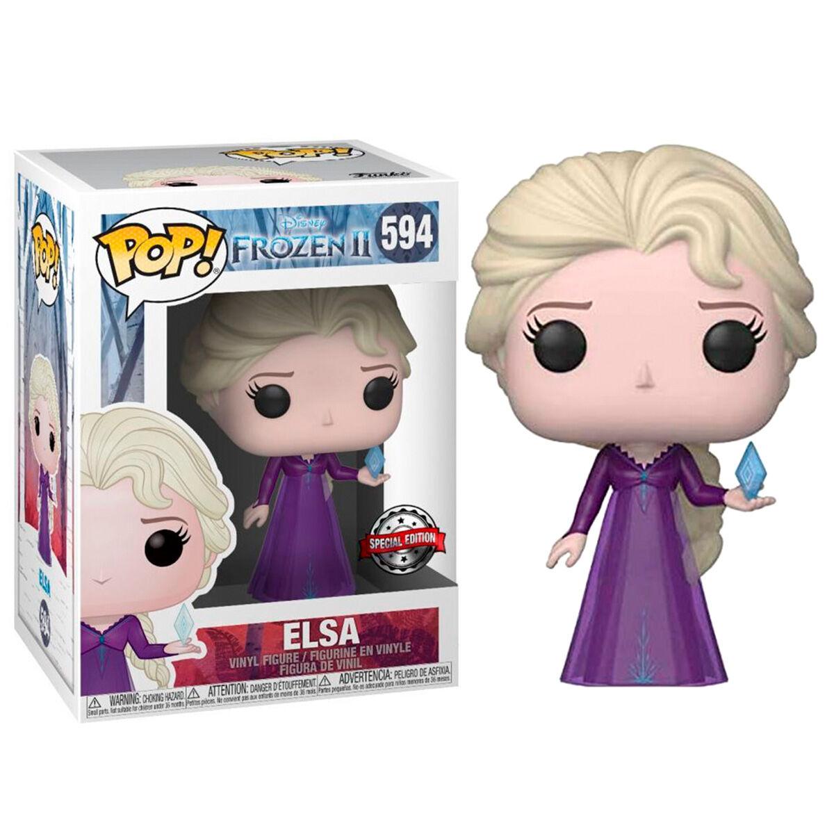 Figura POP Disney Frozen 2 Elsa Exclusive 889698408929