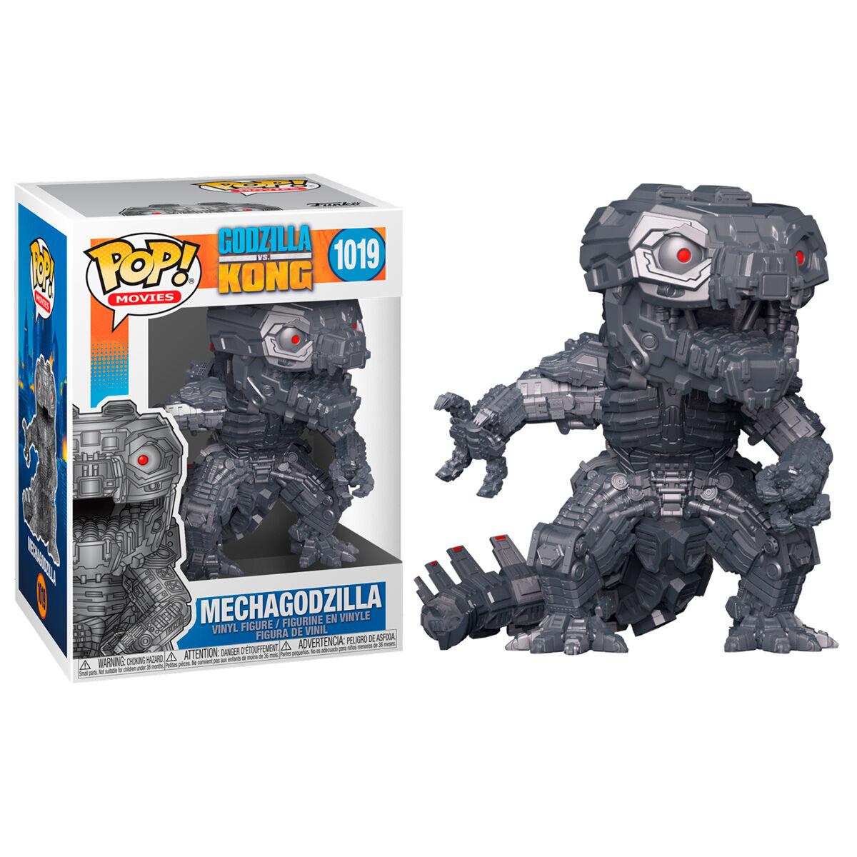 Figura POP Godzilla Vs Kong Mechagodzilla Metallic 889698512879