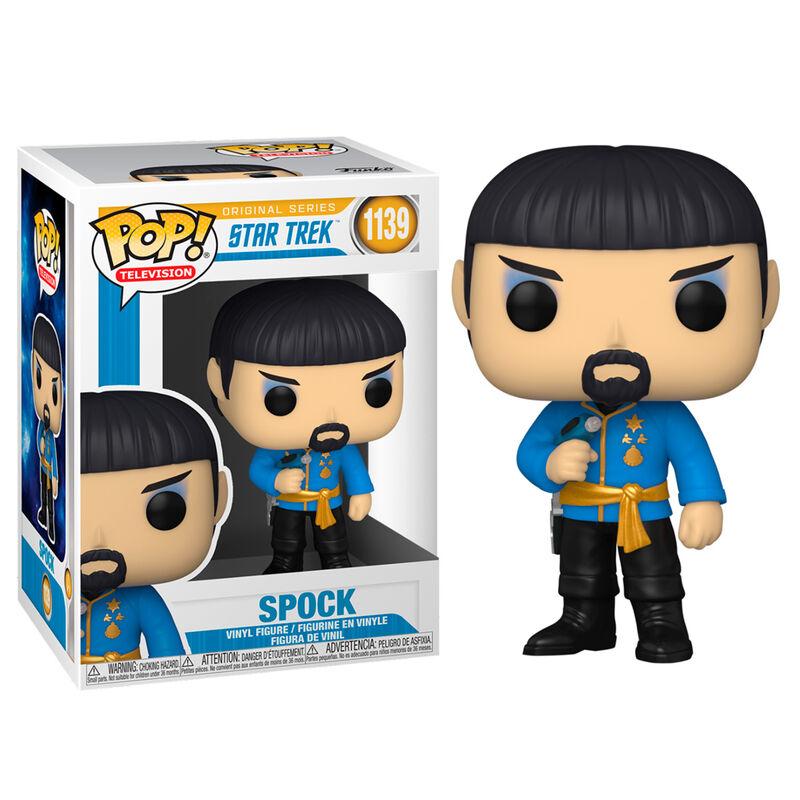 Pre-pedido Funko POP o Figura POP Star Trek Spock Mirror Mirror Outfit