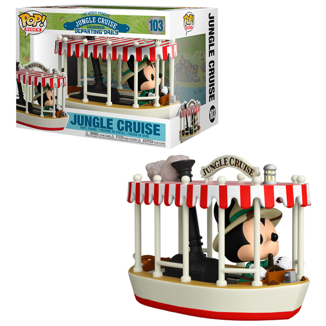 Funko POP o Figura POP Jungle Cruise Mickey - 103