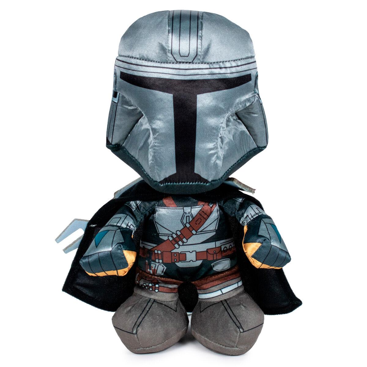 Peluche Warrior Mandalorian Star Wars 25cm 8425611302107