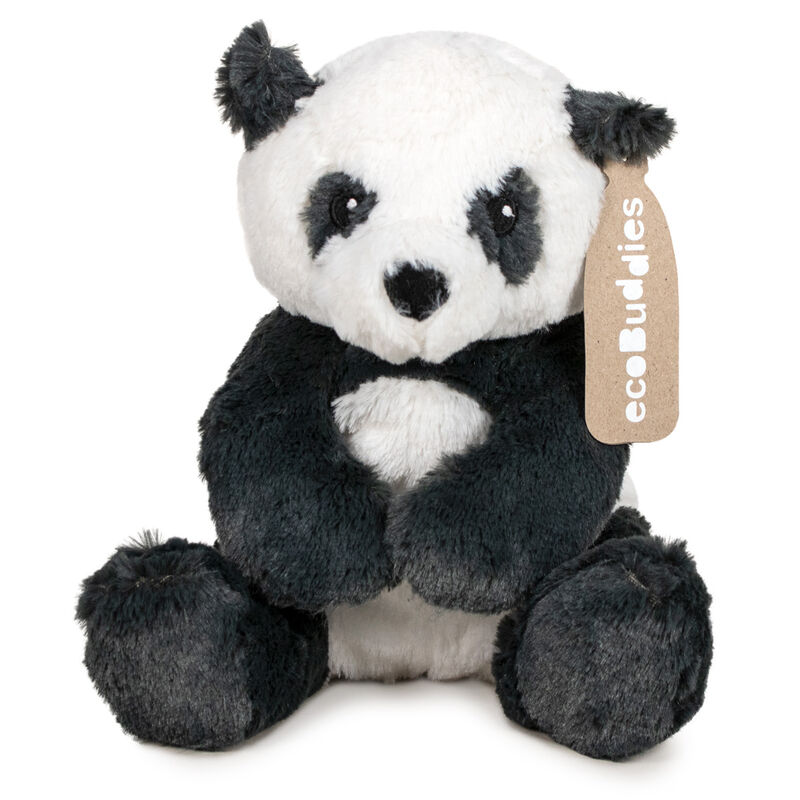 Peluche reciclado Oso Panda Eco Buddies 25cm 8410779079824