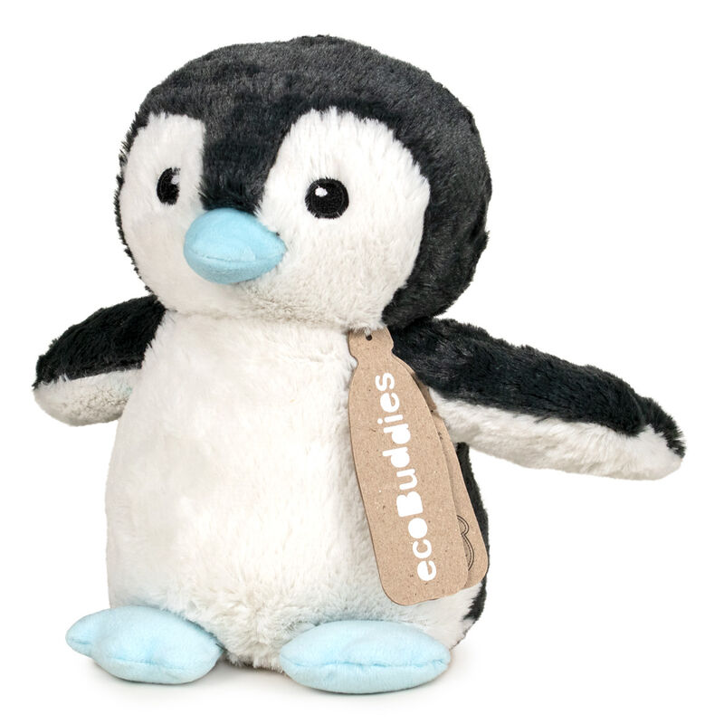 Peluche reciclado Pinguino Eco Buddies 17cm 8410779085955