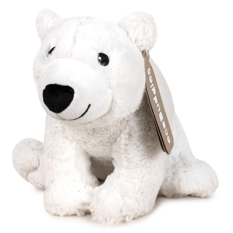 Peluche reciclado Oso Polar Eco Buddies 23cm 8410779085900