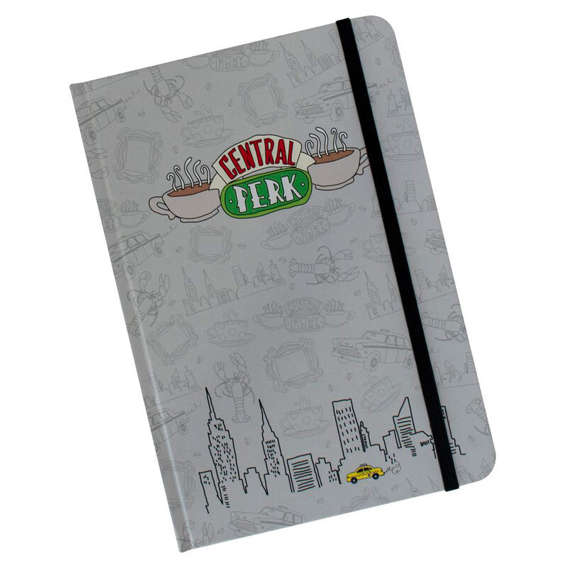 Cuaderno A5 Friends 5060718142626