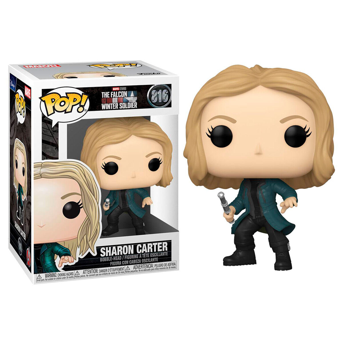 Figura POP Marvel The Falcon and the Winter Soldier Sharon Carter 889698523714