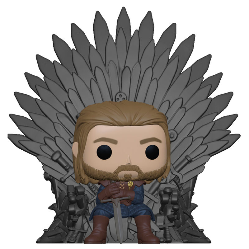 Pre-pedido Funko POP o Figura POP Game of Thrones Ned Stark on Throne